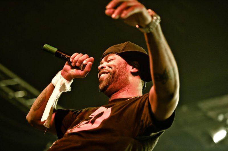 Method Man w klubie Stodola