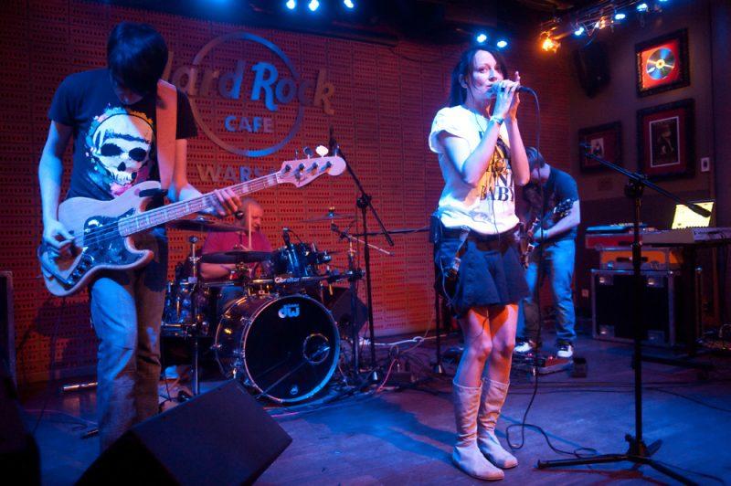 Oszibarack w Hard Rock Cafe Warsaw