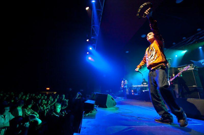 Ian Brown w klubie Palladium