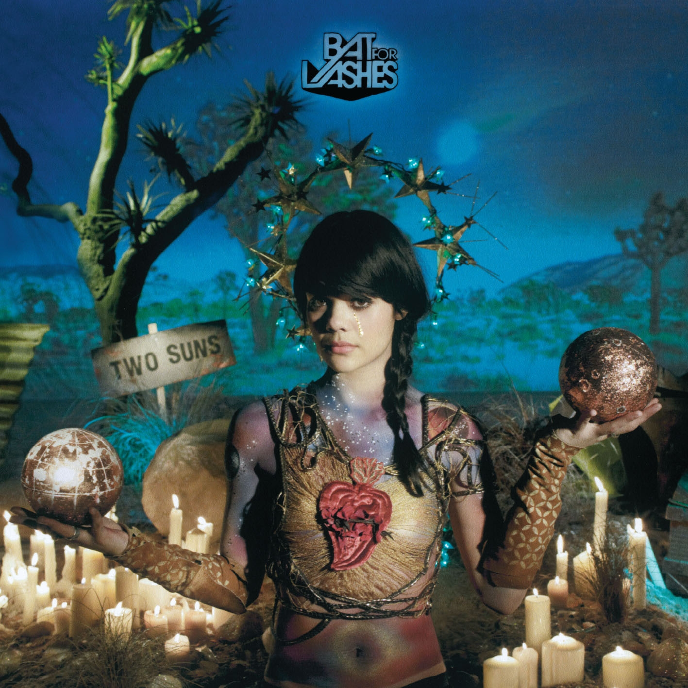 "BAT FOR LASHES – ""Two Suns"""