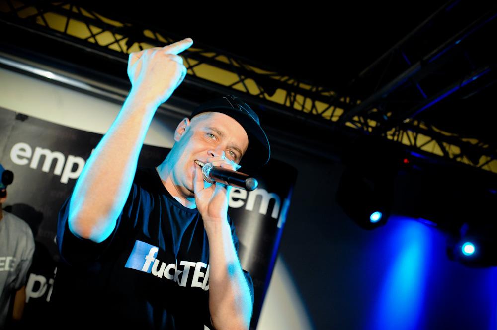 TEDE – koncert promocyjny w Empiku – 24.06.10 (Foto: P. Tarasewicz)