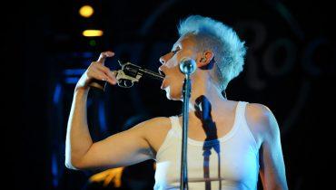 Maria Peszek w Hard Rock Cafe (Foto:. P. Tarasewicz)