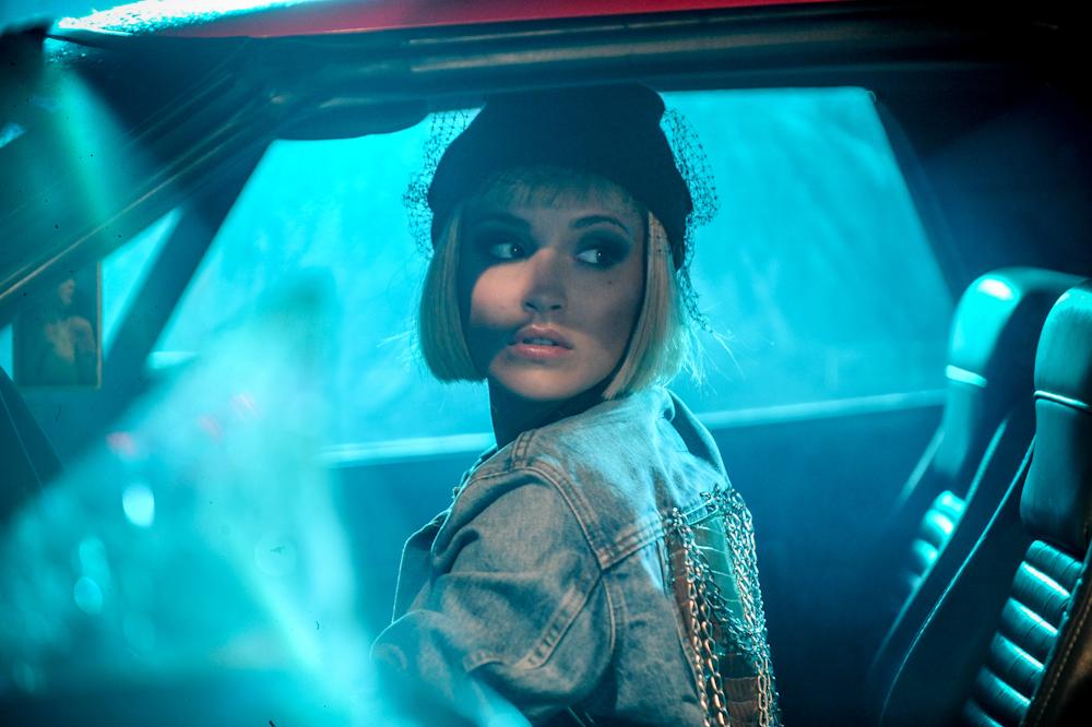 """MARINA – plan klipu """"Saturday Night"""" (Foto: A. Rawicz / P. Tarasewicz)"""