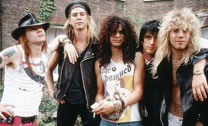 Zabrakło ich w reaktywowanym składzie Guns N Roses, więc nagrali własny utwór
