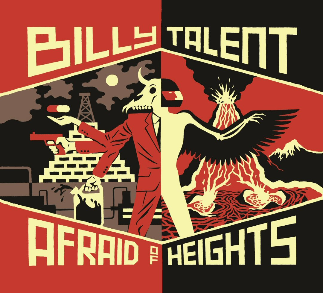 "Billy Talent – ""Afraid Of Heights"""