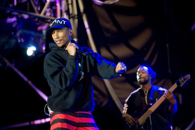 Pharrell Williams śpiewa po hiszpańsku w singlu kolumbijskiego wokalisty (wideo)