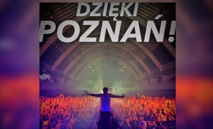 """""""Karma wraca. Ja też wróciłem"""" – Tede wystąpił w Poznaniu pierwszy raz od blisko dekady"""
