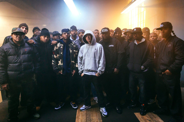 Eminem zachwycony debiutem Kendricka Lamara