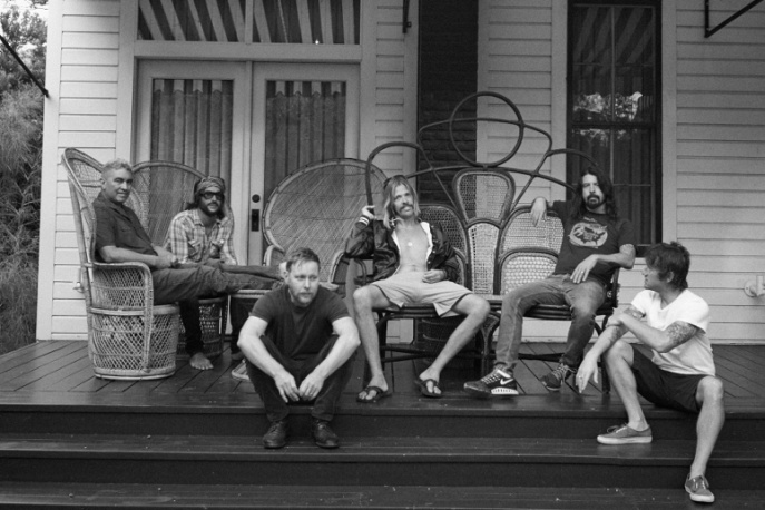 Foo Fighters, Dave Grohl , Taylor Hawkins