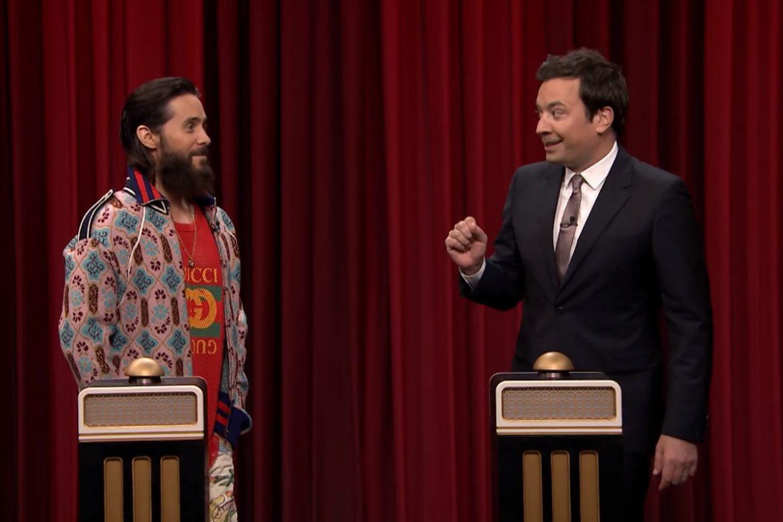 Jared Leto w quizie muzycznym Jimmy'ego Fallona