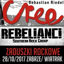 Niezwykłe Zaduszki Rockowe: CREE & REBELIANCI
