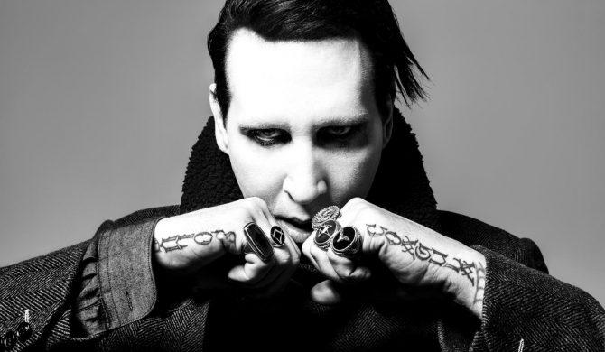 Marilyn Manson: powrót na scenę i od razu skandal