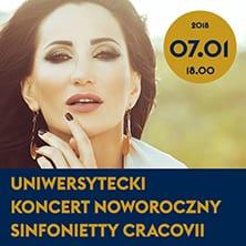 Uniwersytecki Koncert Noworoczny Sinfonietty Cracovii