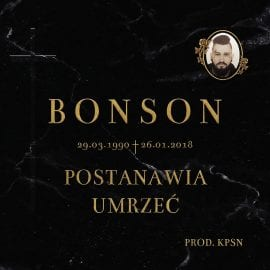 """Bonson – """"Bonson postanawia umrzeć"""""""