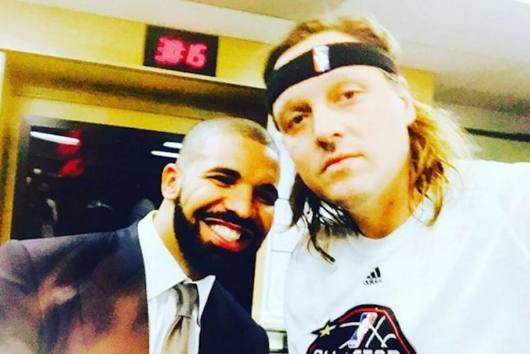 Muzycy w tegorocznym Meczu Celebrytów NBA