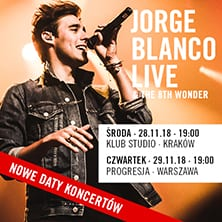 Jorge Blanco LIVE & The 8th Wonder