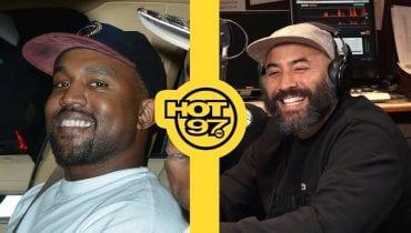 Kanye West zadzwonił do stacji Hot97 w bardzo nietypowej sprawie