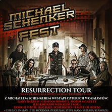 MICHAEL SCHENKER FEST – Resurrection Tour