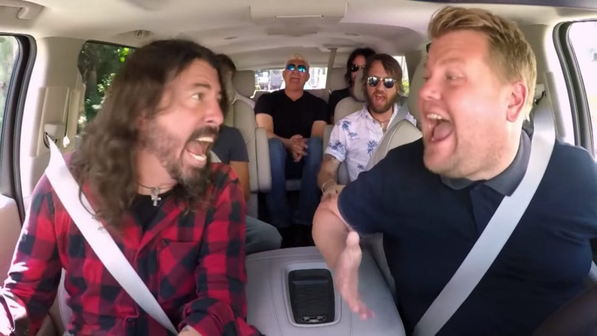 "Foo Fighters kiepsko wspominają udział w ""Carpool Karaoke"""