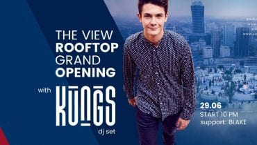 Kungs otwiera Rooftop The View