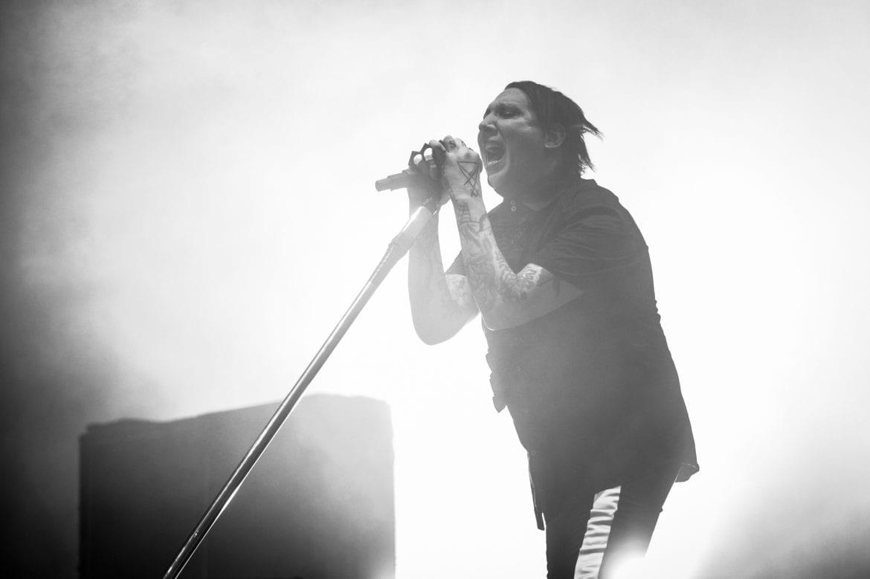 Marilyn Manson na zdjęciach z koncertu w Warszawie