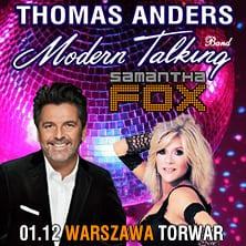 THOMAS ANDERS & MODERN TALKING, SAMANTHA FOX – koncert Andrzejkowy
