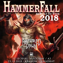 Hammerfall + Armored Dawn