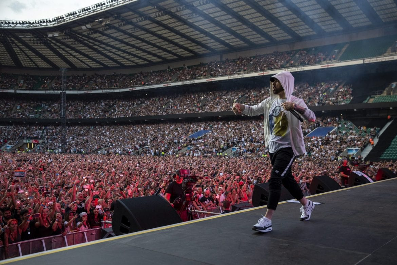 Zobacz zdjęcia z europejskich koncertów Eminema
