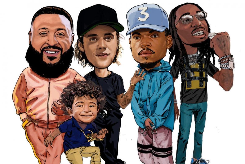 Bieber, Chance i Quavo w nowym klipie DJ-a Khaleda