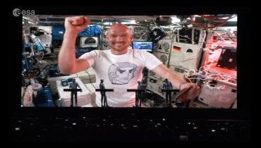 Kraftwerk wystąpili z astronautą będącym na orbicie