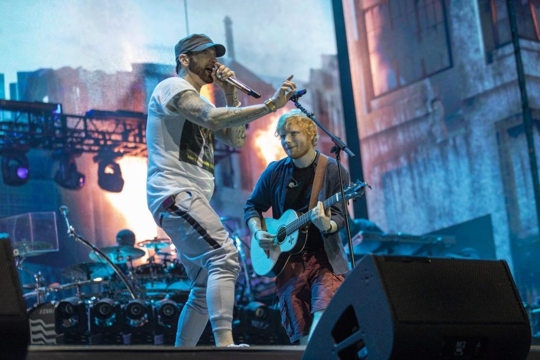 Eminem pokonał ABBĘ i Led Zeppelin