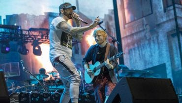 Eminem i Ed Sheeran razem na scenie (wideo)