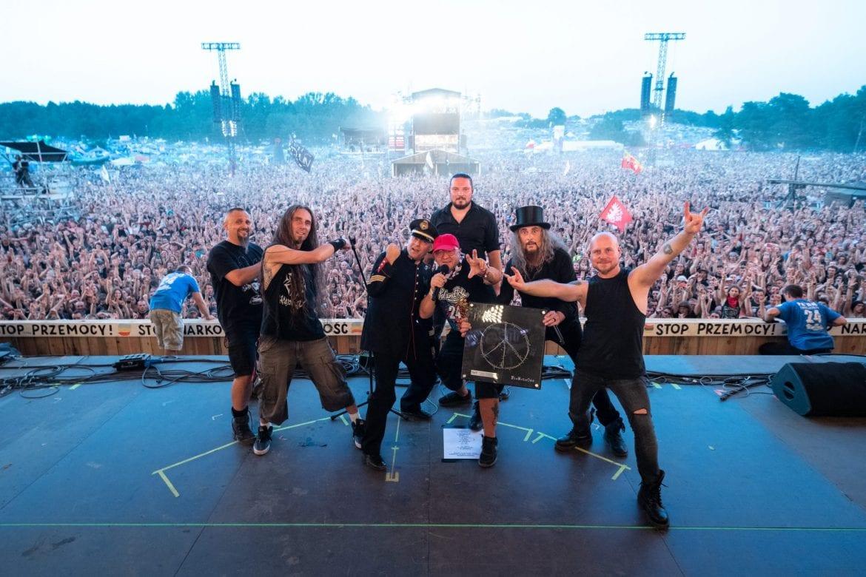 Pol'And'Rock Festival – zdjęcia z I dnia
