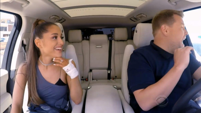 """Ariana Grande w nowym odcinku """"Carpool Karaoke"""""""