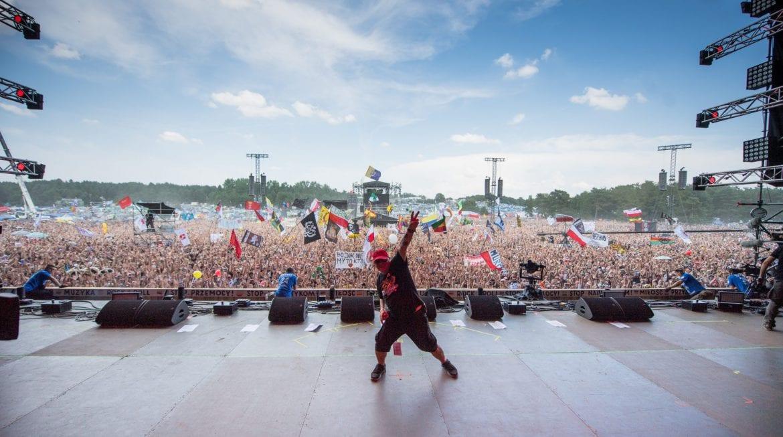 Polska straż nie schłodzi uczestników Pol'And'Rock Festivalu