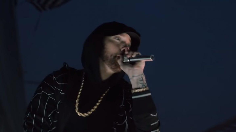 Eminem wystąpił na dachu Empire State Building