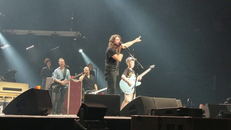 10-latek wystąpił z Foo Fighters i podbił serca fanów