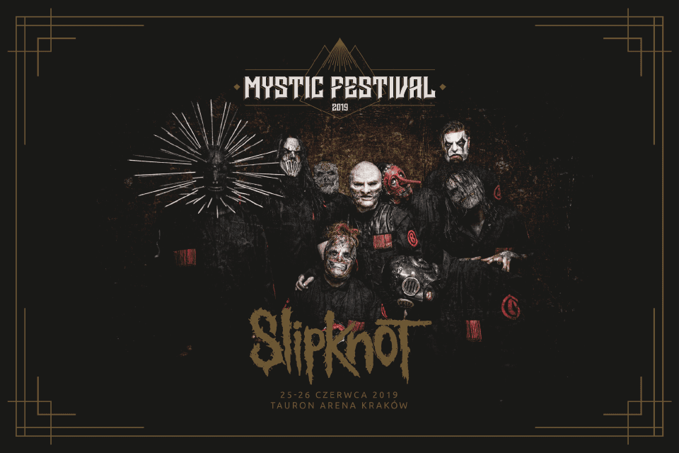 Slipknot pierwszą gwiazdą Mystic Festivalu