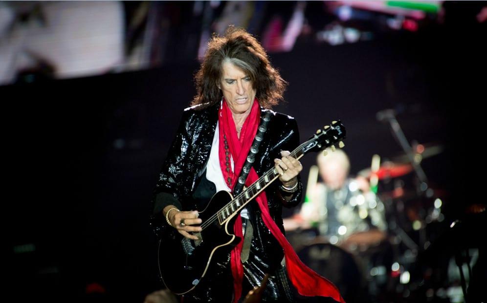 Gitarzysta Aerosmith trafił do szpitala