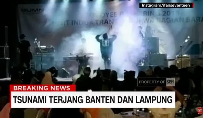 Tragedia na koncercie – muzycy zginęli po uderzeniu tsunami w scenę