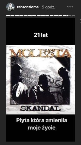 Żabson - Skandal - Molesta