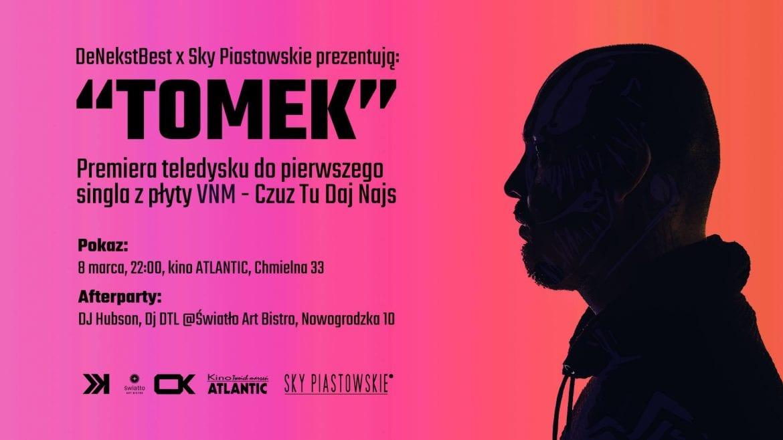 "VNM – kinowa premiera singla i klipu ""Tomek"""