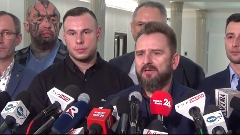 Straż marszałkowska nie chciała wpuścić Bonusa RPK i Różala do Sejmu