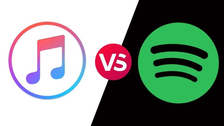 Apple Music przegoniło Spotify