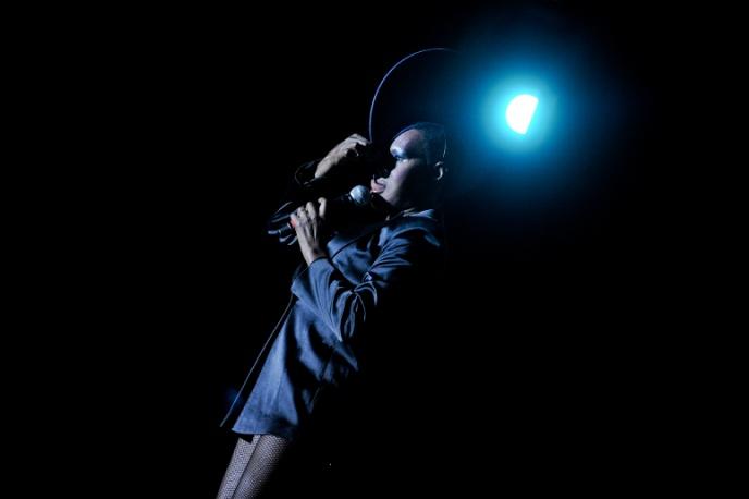 Zjawiskowe show Grace Jones