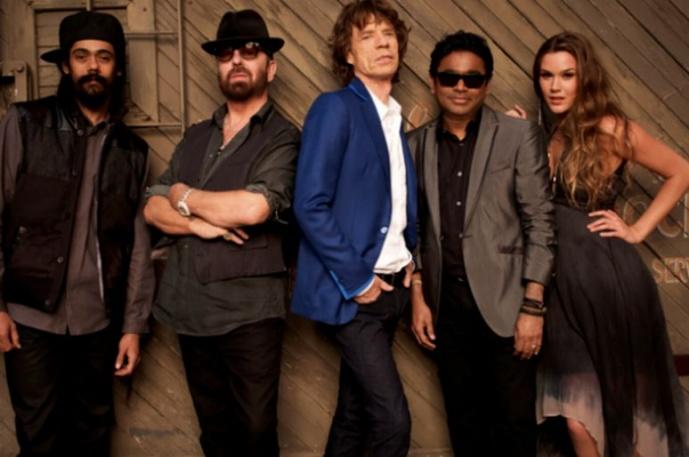 Supergrupa Jaggera pokazuje tracklistę