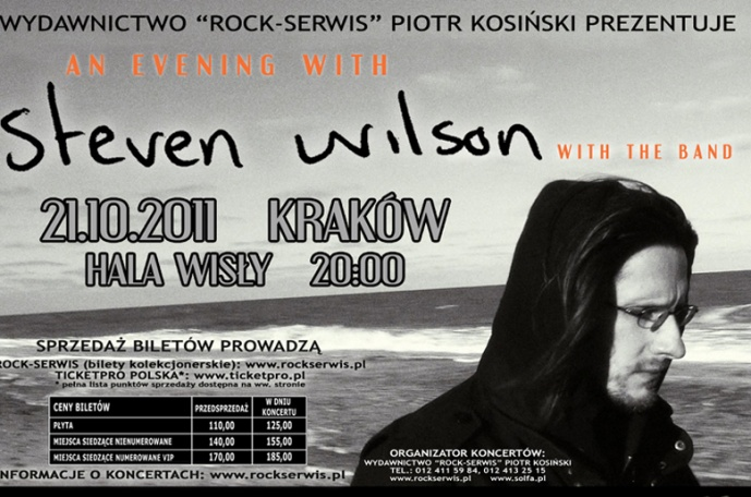 Steven Wilson – dodatkowy koncert w Poznaniu