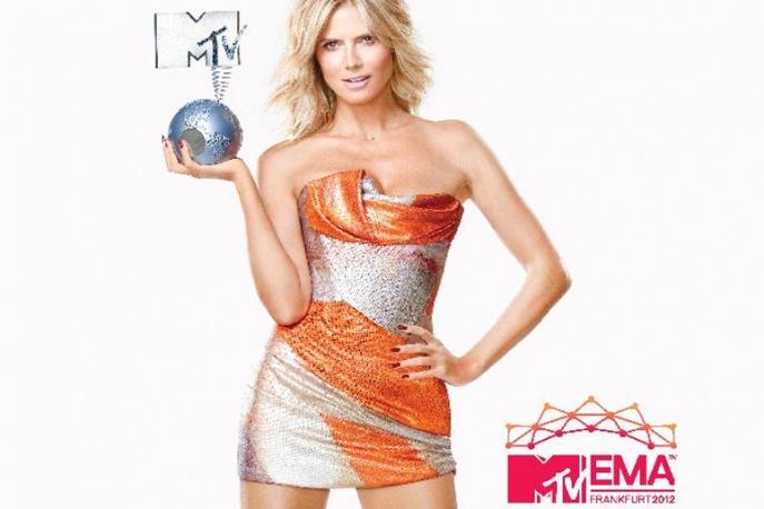 Heidi Klum gospodarzem MTV EMA