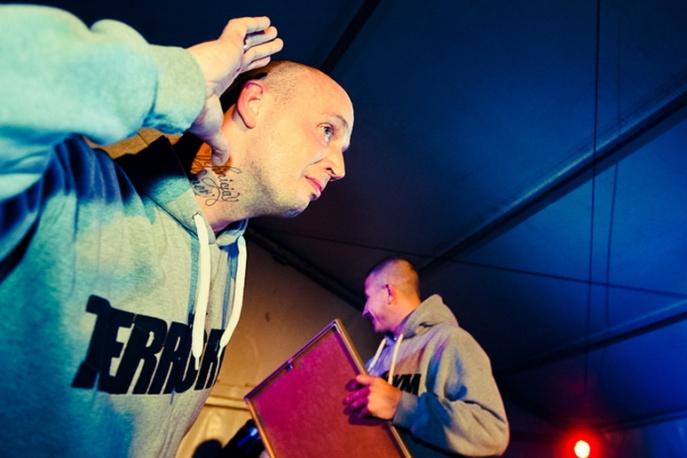 Goście na koncercie Slums Attack i Onyx