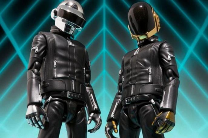 Figurki i prezerwatywy od Daft Punk